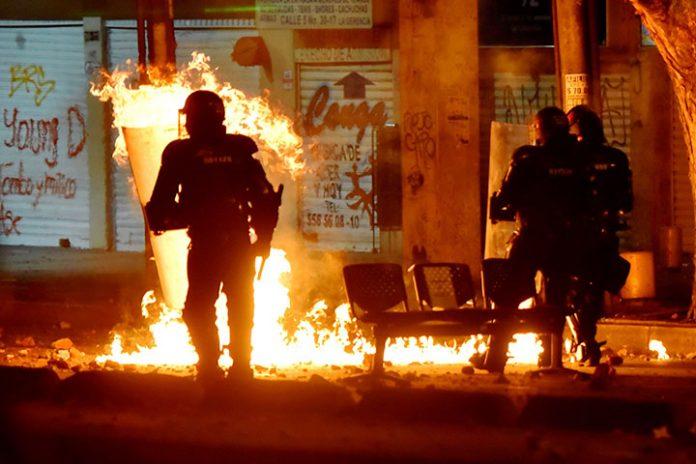 Fuerzas Esmad Bogota