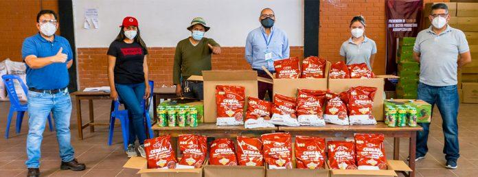 Los cereales de CBN llegan a la comunidad Taquina