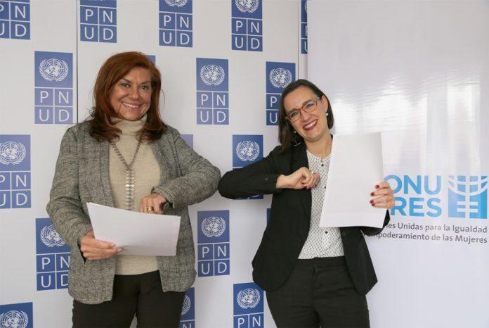 PNUD y ONU Mujeres suscriben acuerdo para fortalecer la participacion politica de las mujeres