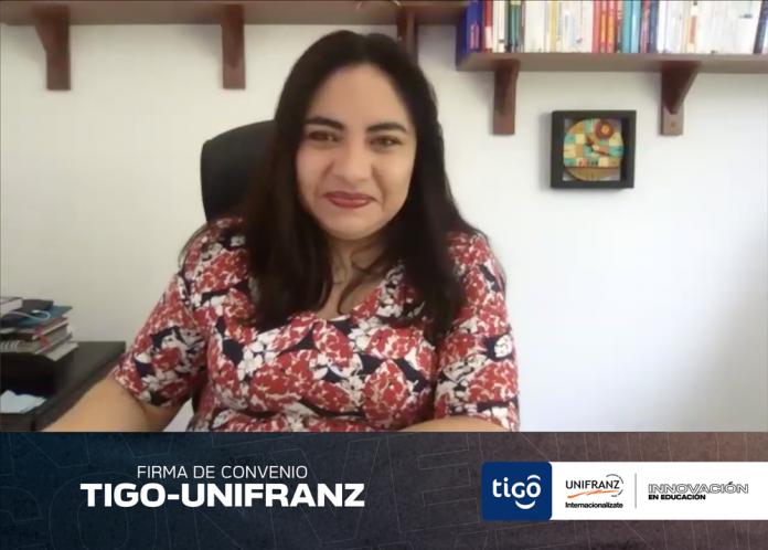 Rectora Nacional Unifranz Veronica Agreda de Pazos