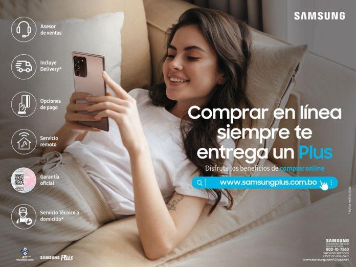 Samsung impulso a su estrategia de innovacion para brindar mas beneficios a sus usuarios con el reciente lanzamiento de su tienda online