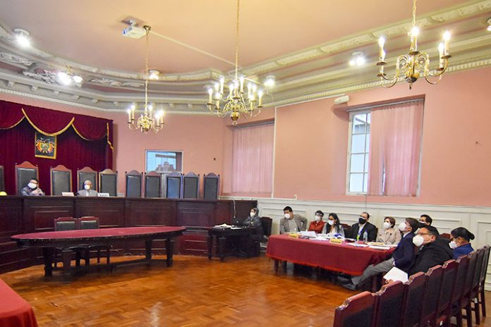 Tribunal Departamental de Justicia de La Paz