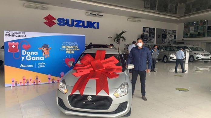 Wagner Amado Azero Estivariz ganador del Suzuki Swift