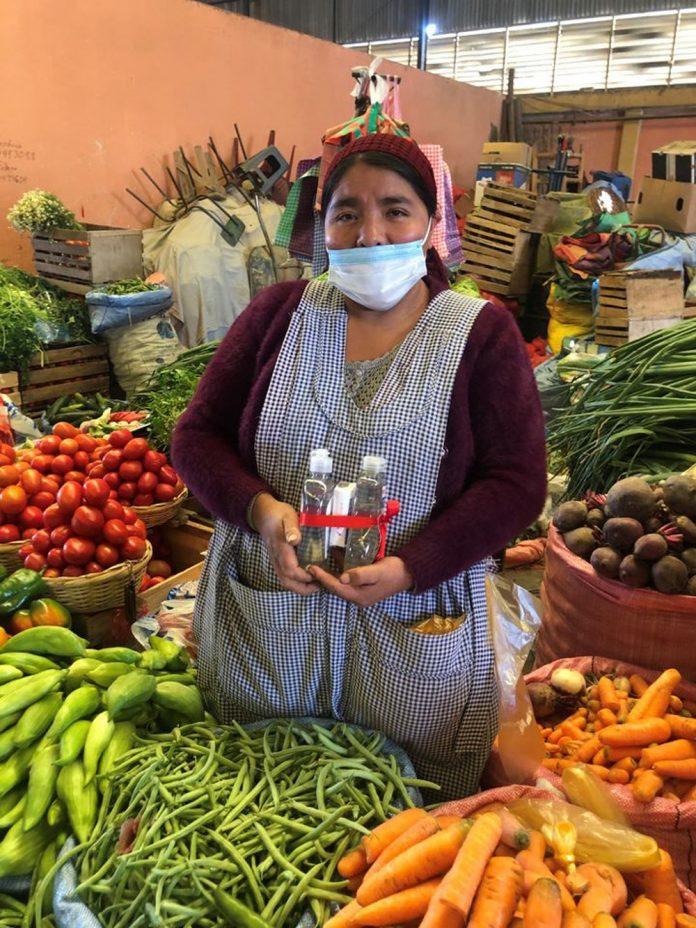 donara continuamente diferentes productos a sectores vulnerables a traves del Banco de Alimentos de Bolivia