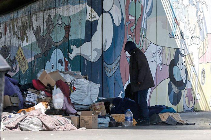 hombre sin hogar Argentina
