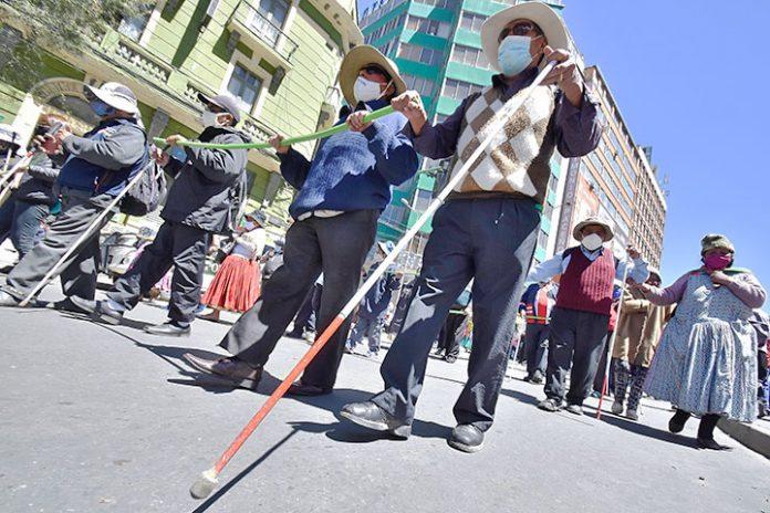 marcha Federacion Nacional de Ciegos