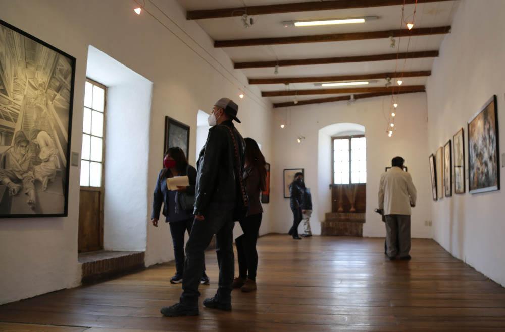 111 obras del Salon Pedro Domingo Murillo