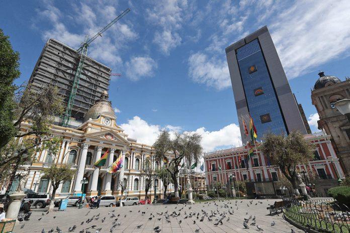 Asamblea Legislativa y palacio de Gobierno