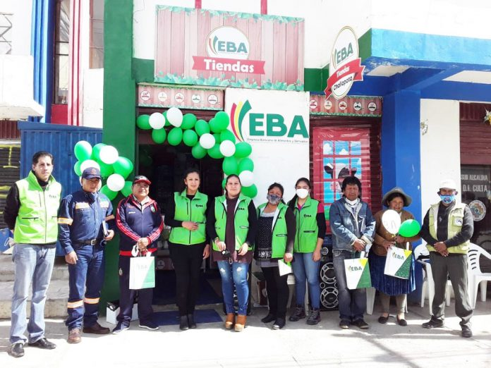 EBA inaugura nueva tienda en el municipio de Challapata