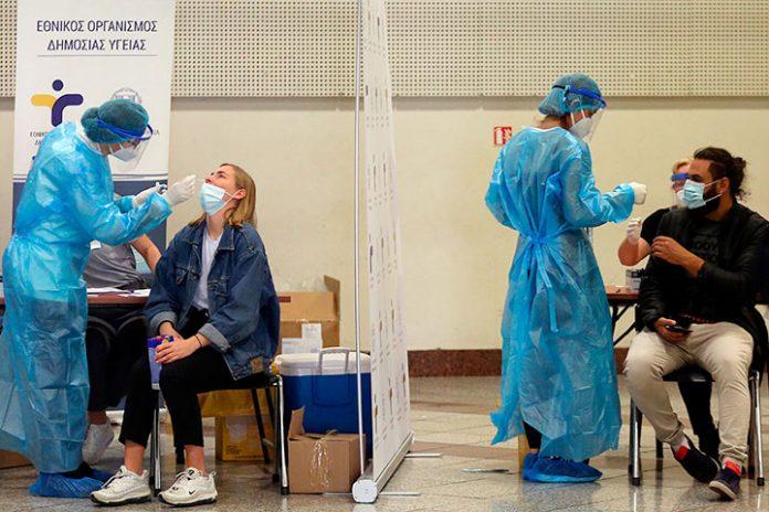 Grecia coronavirus