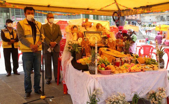 Inauguracion la Feria del Pan en la Plaza Mayor