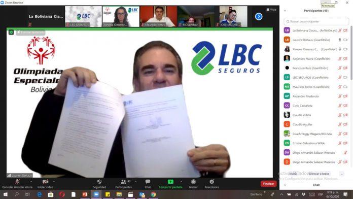 Laurent Bertaux Vicepresidente Ejecutivo de La Boliviana Ciacruz Seguros