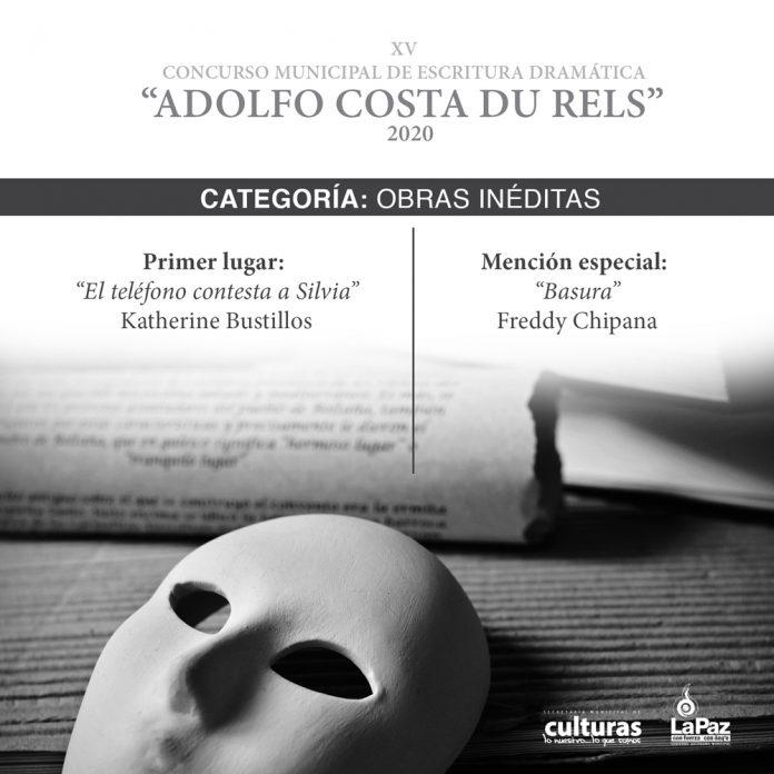 Presentacion de los ganadores del Concurso Municipal de Escritura Dramatica Adolfo Costa du Rels