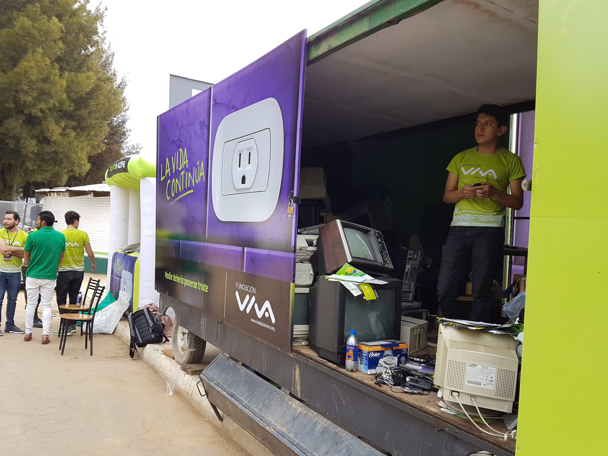 Residuos de aparatos electricos y electronicos RAEE scaled