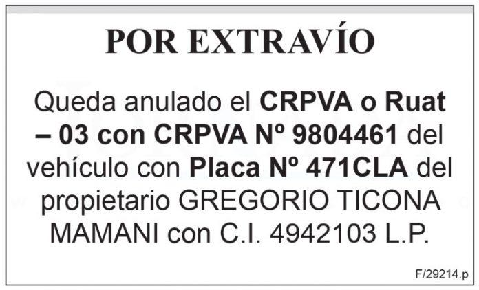 Ruat 03 CRPVA 9804461