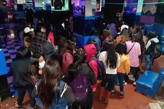 fiesta clandestina El Alto