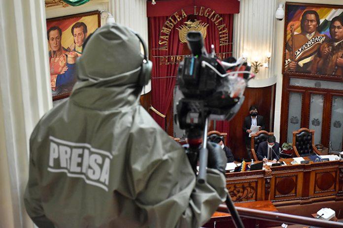 trabajadores prensa