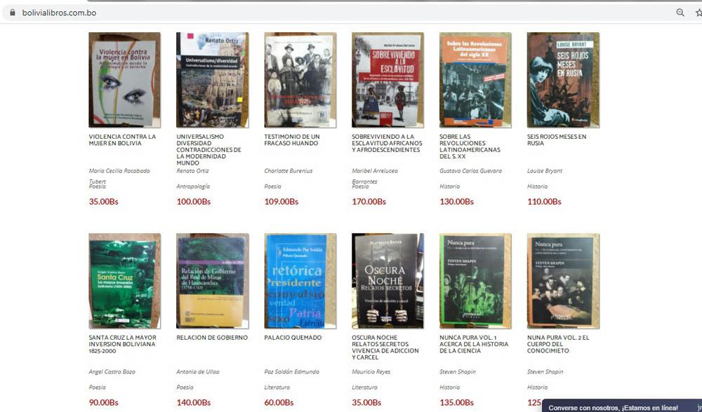 1.000 titulos pueden adquirirse a traves de la pagina web