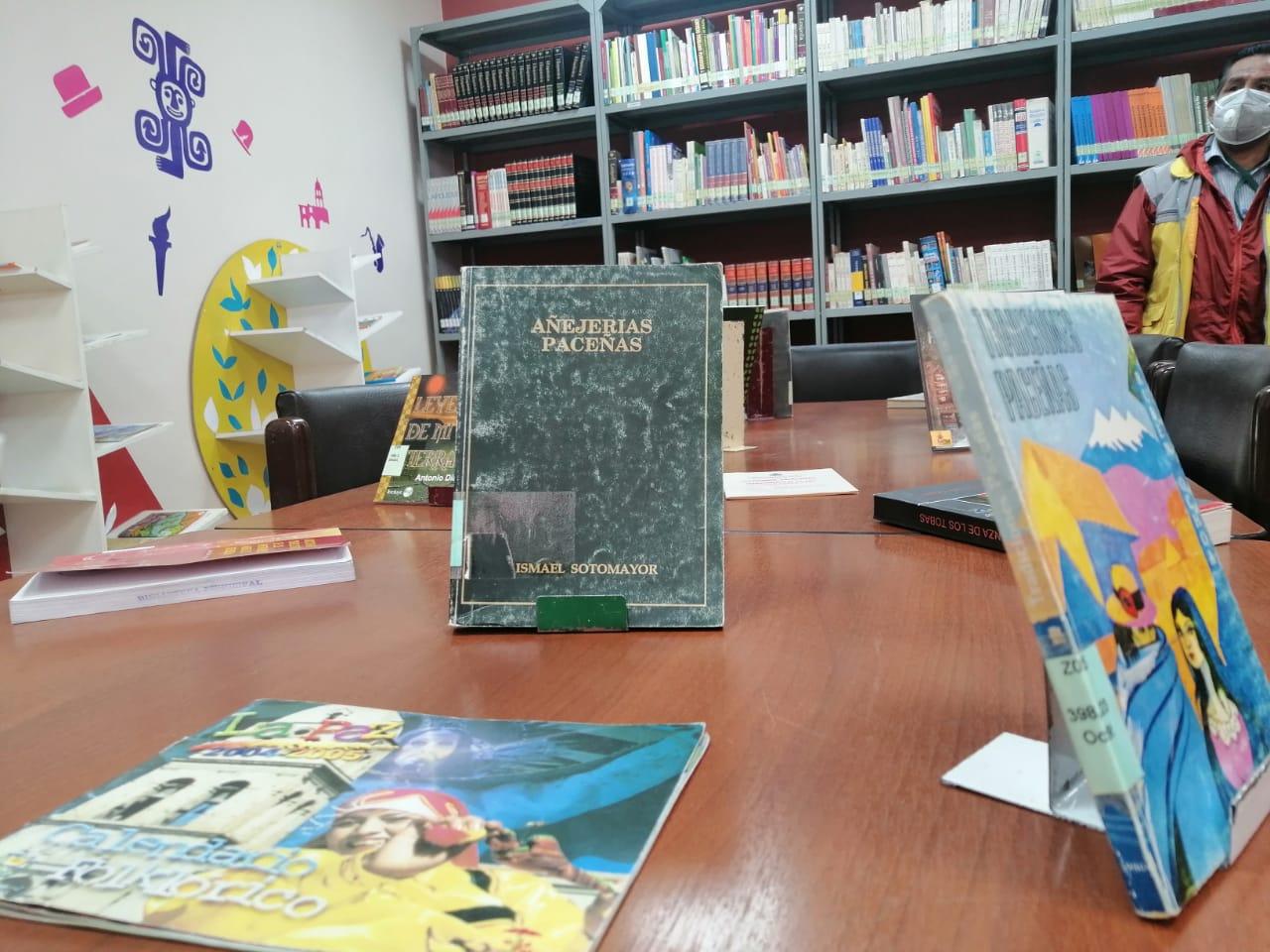 Biblioteca Ismael Sotomayor