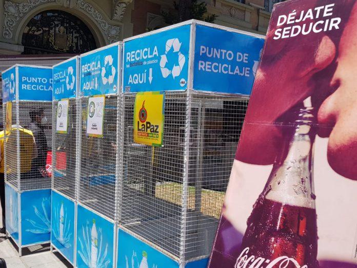 Coca Cola Bolivia y el Gobierno Municipal de La Paz promueven el reciclaje en la urbe pacena