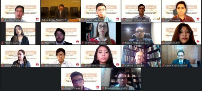 Huawei Bolivia Desarrolla la 4ta version del Programa Semillas para el Futuro 2020