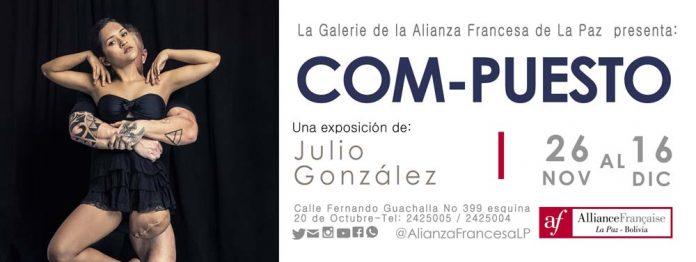 La Galerie de la Alianza Francesa de La Paz presenta la exposicion individual