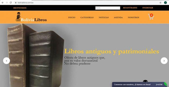 Nace la plataforma virtual bolivialibros.com .bo con 1.000 publicaciones en formato fisico a la venta
