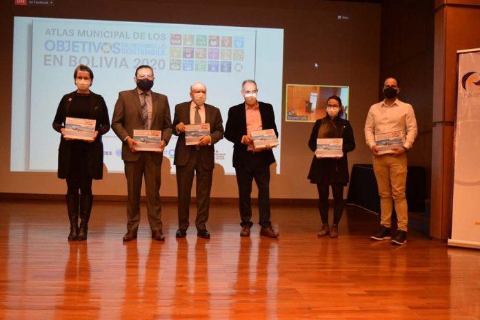 Presentacion del nuevo Atlas Municipal de los Objetivos de Desarrollo Sostenible en Bolivia 2020