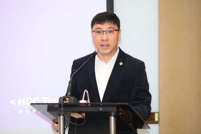 Wan Biao director de Operaciones de Huawei CBG