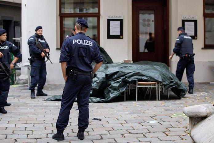 escena del crimen Viena