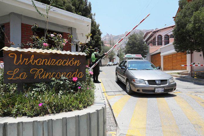ingreso Urbanizacion La Rinconada