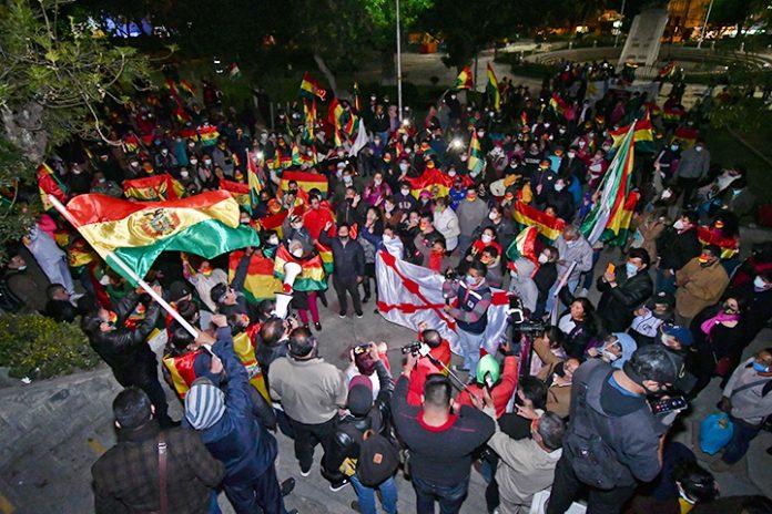 manifestacion La Paz