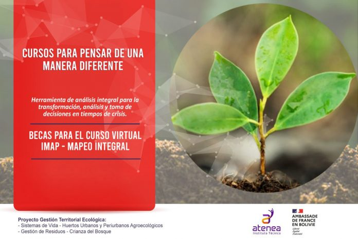 Atenea finaliza primer taller de capacitacion de Mapeo Integral IMAP de la mano de la Embajada de Francia