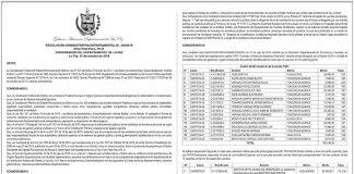 Gobierno Autónomo Departamental de La Paz - Resolución Administrativa Departamental Nº 348/2019