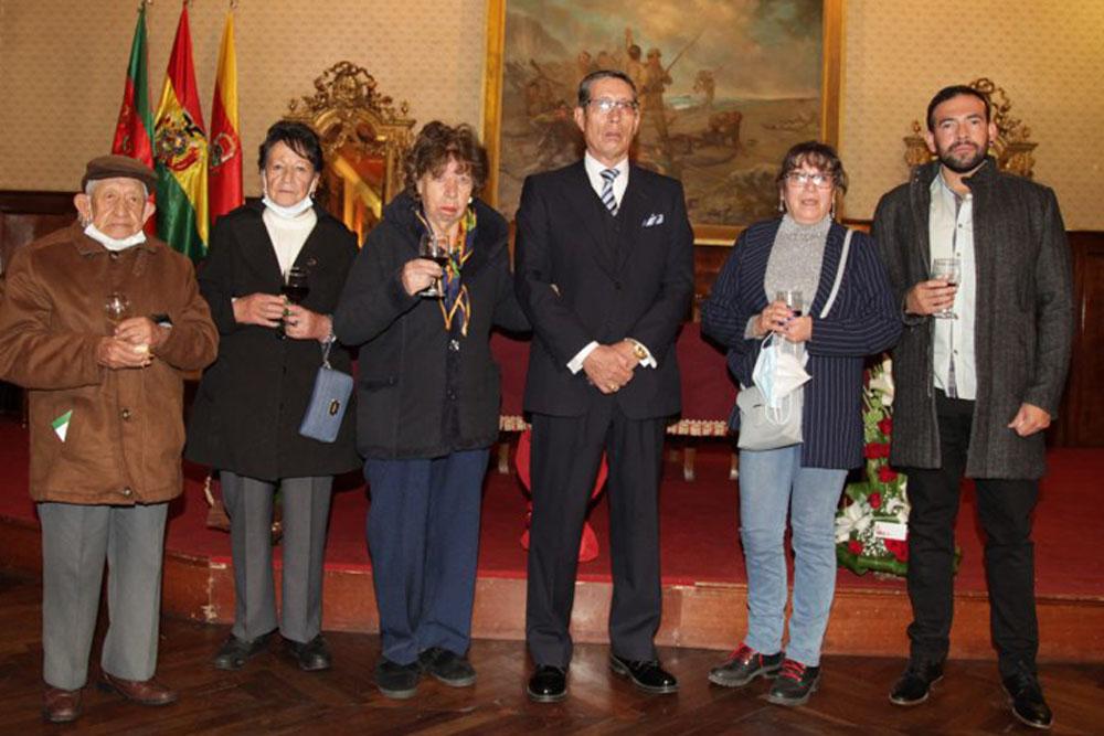 Jesus Balderrama Marta Rubin de Celis Mary de Garcia Victor Hugo Garcia Rosario Solorzano Bertiam Vasquez