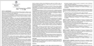 Ministerio de Desarrollo Rural y Tierras - Resolución Ministerial Nº 372