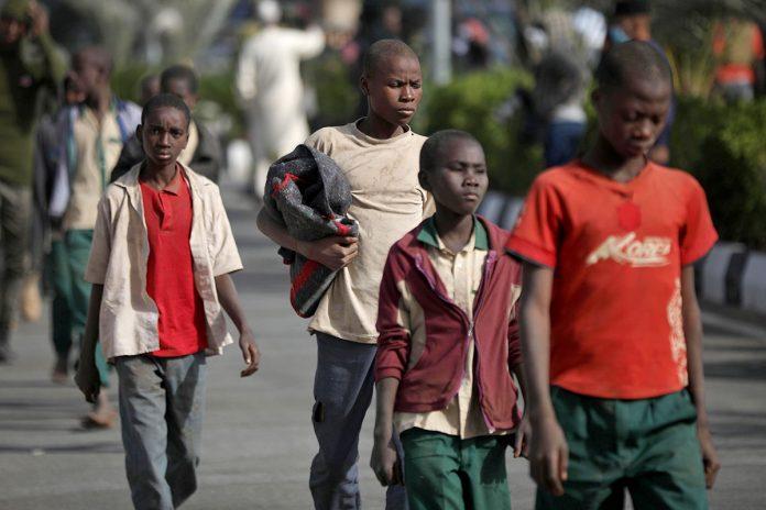 Nigeria estudiantes liberados