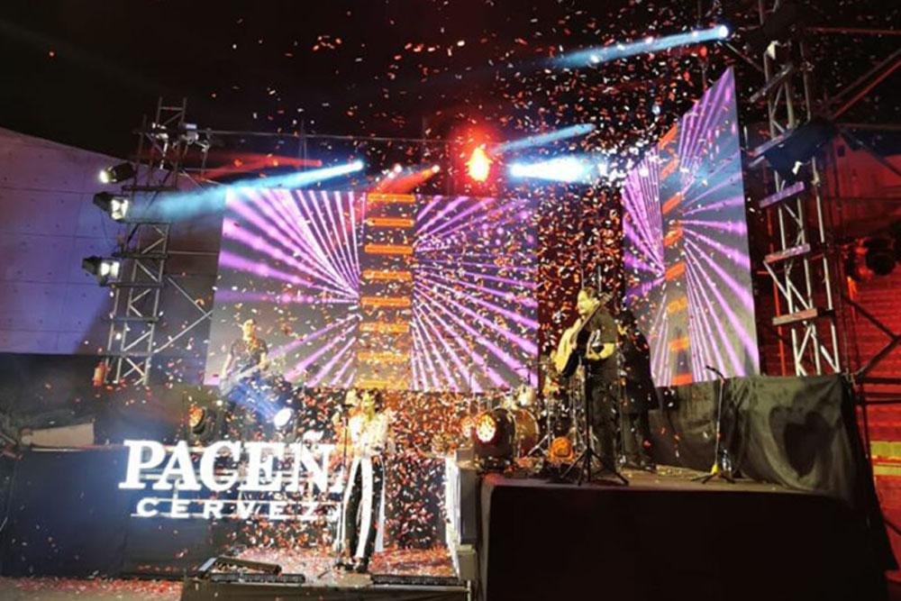 Pacenita Retornable en la segunda version del festival