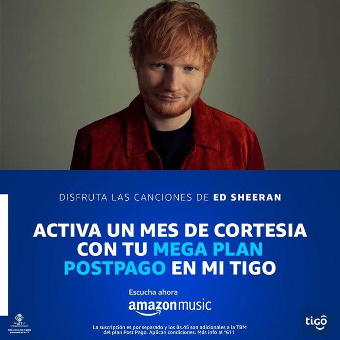 Tigo ahora ofrece Amazon Music
