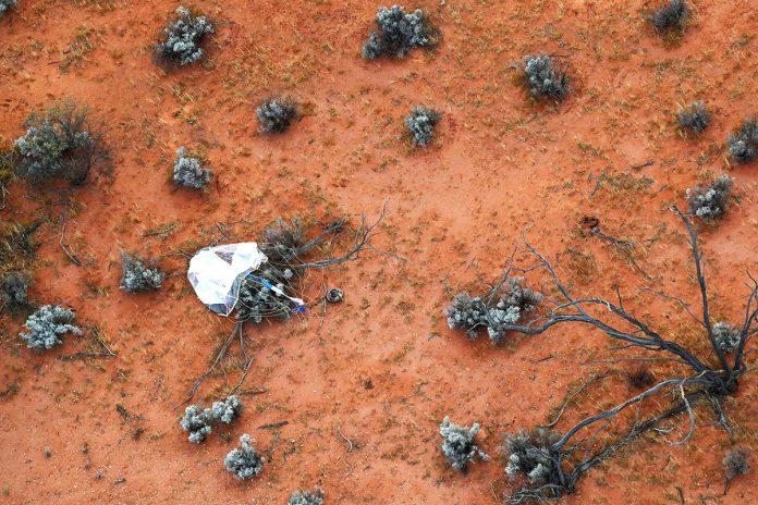 cápsula espacial Hayabusa2