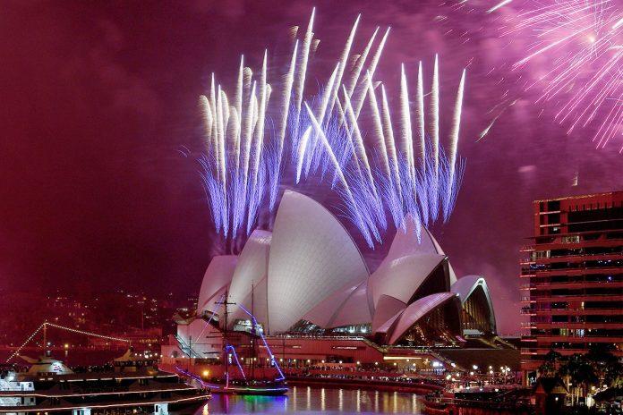 fuegos artificiales Sydney