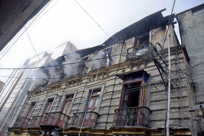 incendio La Paz