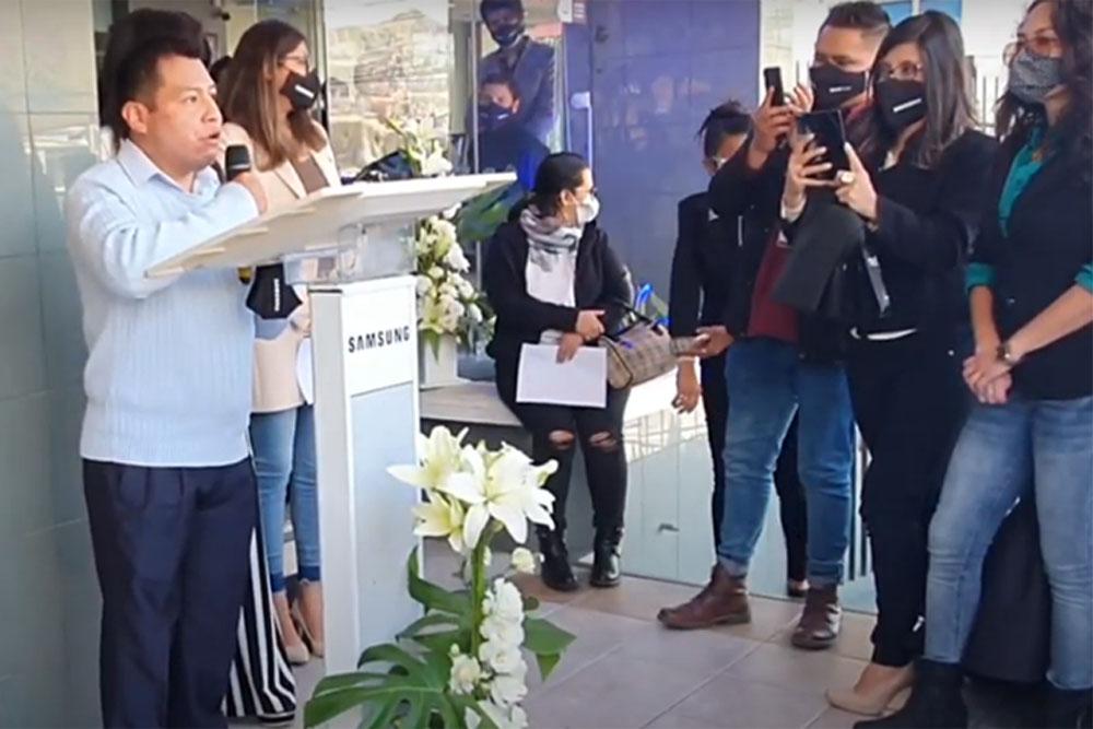 Adhemar Mendoza Gerente de Cuentas