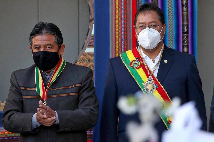 David Choquehuanca y Luis Arce