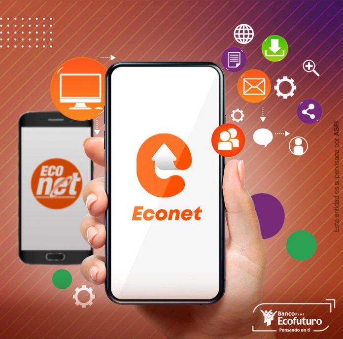 Ecofuturo permite usar el numero de telefono para enviar dinero