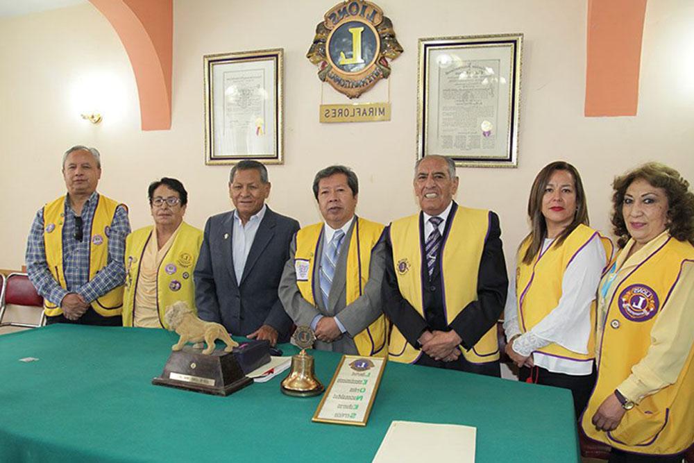 Franklin Portugal Teresa Villazante Gerardo Prado Abraham Pacheco Rolando Vargas Jenny Orias Eugenia Mercado