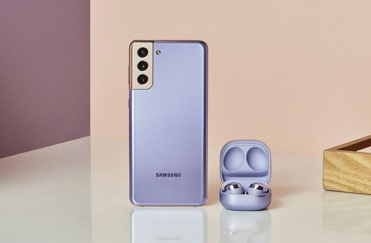 Samsung Galaxy S21+ y Buds Pro