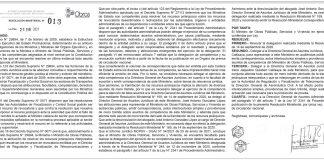Ministerio de Obras Públicas, Servicios y Vivienda - Resolución Ministerial N° 013