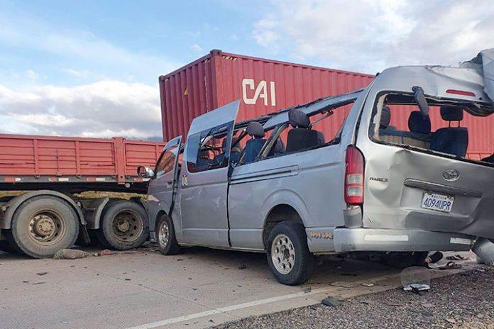 accidente de tránsito Pisiga