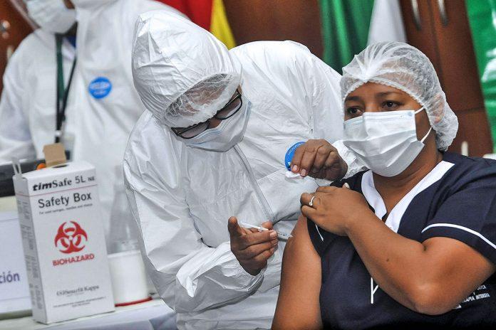 inmunización personal sanitario